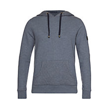 Buy Barbour Artemis Hoodie, Dress Blue Online at johnlewis.com