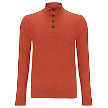 Buy Tommy Hilfiger Rick Button Neck Jumper Online at johnlewis.com
