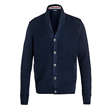 Buy Tommy Hilfiger Barney Shawl Neck Cardigan, Navy Online at johnlewis.com