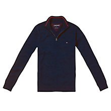 Buy Tommy Hilfiger Atlantic Zip Jumper Online at johnlewis.com