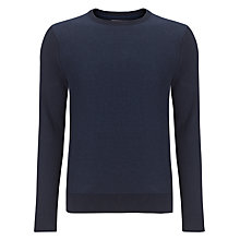 Buy Tommy Hilfiger Bob Crew Neck Jumper, Navy Online at johnlewis.com
