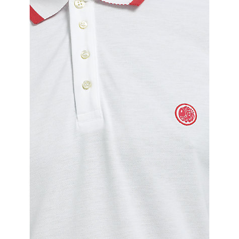 Buy Pretty Green Pique Contrast Trim Polo Shirt Online at johnlewis.com