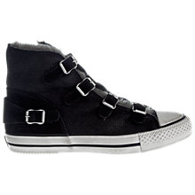 Buy Ash Virgin High Top Leather Buckled Trainer Online at johnlewis.com