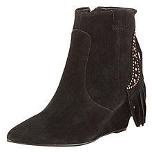 Buy Collection WEEKEND by John Lewis Shot Tassle Detail Suede Boots Online at johnlewis.com