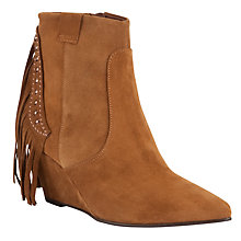 Buy John Lewis Shot Tassle Detail Suede Boots Online at johnlewis.com