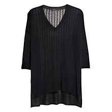 Buy Violeta by Mango Openwork Knit Jumper Online at johnlewis.com