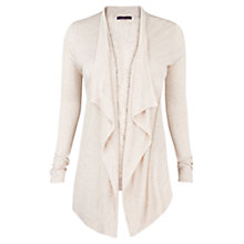 Buy Violeta by Mango Flecked Cardigan, Light Beige Online at johnlewis.com