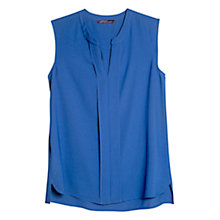 Buy Violeta by Mango Sleeveless Blouse, Blue Online at johnlewis.com