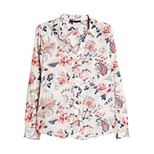 Buy Violeta by Mango Paisley Blouse, Light Pastel Pink Online at johnlewis.com