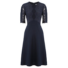 Buy Whistles Tillie Lace Insert Dress Online at johnlewis.com