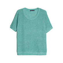 Buy Violeta by Mango Short Sleeve Knit Jumper Online at johnlewis.com