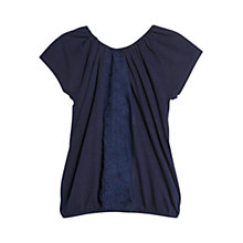 Buy Violeta by Mango Embroidered T-Shirt Online at johnlewis.com