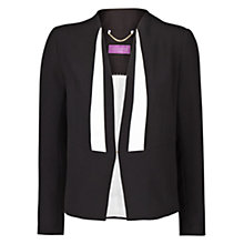 Buy Violeta by Mango Monochrome Suit Blazer, Black Online at johnlewis.com