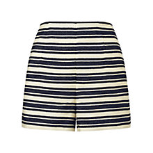 Buy Whistles Audrey Striped Shorts, Multi Online at johnlewis.com