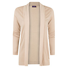 Buy Violeta by Mango Open Front Cardigan, Beige Online at johnlewis.com