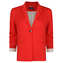 Buy Violeta by Mango Linen Blend Blazer Online at johnlewis.com