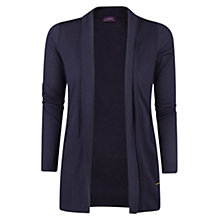 Buy Violeta by Mango Tencel Cotton-Blend Jacket, Navy Online at johnlewis.com