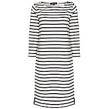 Buy Jaeger Stripe Jersey Dress Online at johnlewis.com