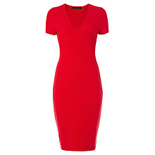 Buy Jaeger Ottoman Cap Sleeve Dress Online at johnlewis.com