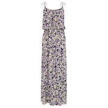 Buy Warehouse Fluro Pansy Maxi Dress, Multi Online at johnlewis.com