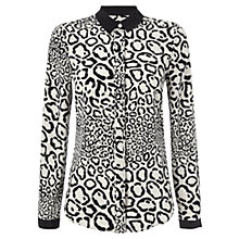 Buy Jaeger Leopard Print Blouse Online at johnlewis.com
