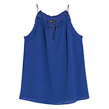Buy Mango Textured Babydoll Top Online at johnlewis.com