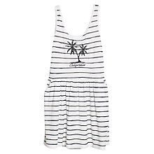 Buy Mango Stripe 'California' Dress, White Online at johnlewis.com