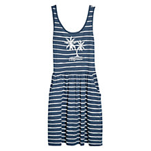 Buy Mango California Striped Dress, Navy Online at johnlewis.com