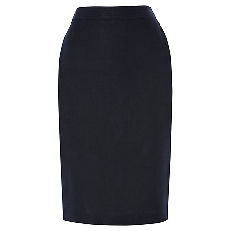 Buy Jaeger Linen Pencil Skirt Online at johnlewis.com