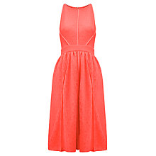Buy Whistles Corrine Lace Midi Dress Online at johnlewis.com