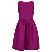 Buy Ted Baker Julette Bow Detail Dress, Fuchsia Online at johnlewis.com