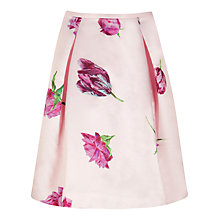 Buy Ted Baker Kobi Tulip Printed Skirt, Pale Pink Online at johnlewis.com