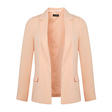 Buy Miss Selfridge Loose Jacket, Peach Online at johnlewis.com