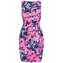 Buy Closet Rose Print Zip Dress, Pink Online at johnlewis.com