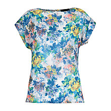 Buy Closet Floral Blouse, Multi Online at johnlewis.com
