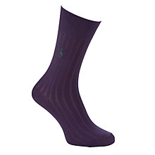 Buy Polo Ralph Lauren Egyptian Cotton Blend Ribbed Socks Online at johnlewis.com