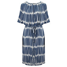 Buy Marimekko Matchstick Dress, Chalk/Dark Blue Online at johnlewis.com