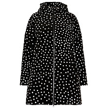 Buy Marimekko Tuiske Spot Padded Coat, Black/White Online at johnlewis.com