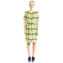 Buy Marimekko Jonkunverran Dress, Yellow/Dark Blue Online at johnlewis.com