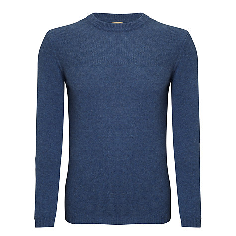 Buy JOHN LEWIS & Co. Moss Yoke Crew Neck Jumper Online at johnlewis.com