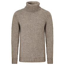 Buy JOHN LEWIS & Co. Made In Italy Oversized Roll Neck Jumper Online at johnlewis.com
