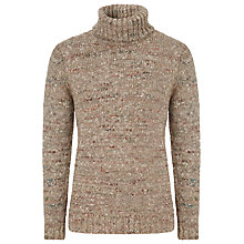 Buy JOHN LEWIS & Co. Chunky Silk Blend Roll Neck Jumper Online at johnlewis.com