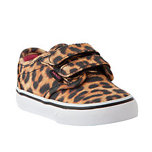Buy Vans Childrens' Atwood Cheetah Trainers, Animal Print Online at johnlewis.com