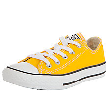 Buy Converse Childrens' Lo-Top Trainers, Honey Online at johnlewis.com