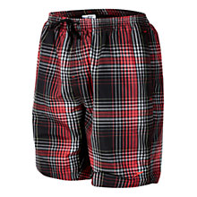 "Buy Speedo Yarn Dyed Checked 18"" Watershort Swim Shorts Online at johnlewis.com"
