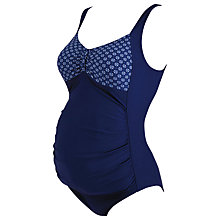 Buy Zoggs Brighton Maternity Scoopback Swimsuit Online at johnlewis.com