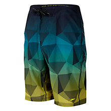 "Buy Speedo Xpress Dry 20"" Watershort Swim Shorts, Scuba/Empire Yellow Online at johnlewis.com"