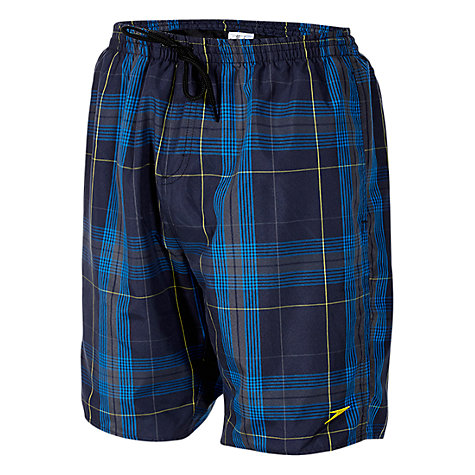 "Buy Speedo Yarn Dyed Checked 18"" Watershorts Online at johnlewis.com"