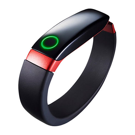 Buy LG Lifeband Touch, Wireless Activity Tracking Wristband, Black & Red, Medium Online at johnlewis.com