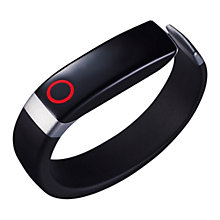 Buy LG Lifeband Touch, Wireless Activity Tracking Wristband, Black & Silver, Medium + LG Heart Rate Monitor Bluetooth Earphones with Mic/Remote, Black Online at johnlewis.com
